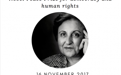 Roundtable with Ms. Shirin Ebadi, Nobel Peace Prize for democracy and human rights